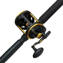 Penn Squall Lever Drag Conventional Reel And Fishing Rod Combo