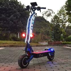 Electric Scooter With Seat For Adults 60v/72v 6000/7000w Strong Power 11 Factoy