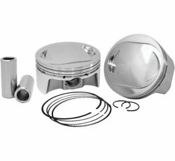 New Cp-carrillo Bhm117ft Pistons For V-twin