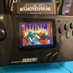 Sega Nomad Lcddrv Rgb Lcd Install Only With New Capacitors And More