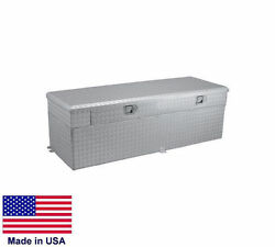 Fuel Transfer Tank And Toolbox - Truck Mounted - 51 Gallon Tank - 50 X 20 X 19