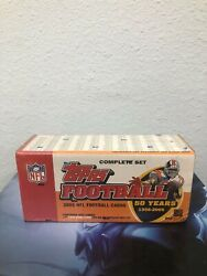 2005 Topps Nfl Football Cards 50 Years 1956-2005 Complete Set Box New/sealed