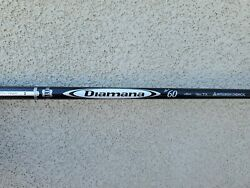 New Uncut Tour Issue Mitsubishi Chemical Diamana D+ Limited 60 Tx Shaft Tiger