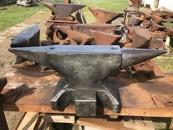Wonderful Forged Blacksmith Anvil Excellent Conditions And Rebound 573 Pound