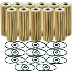 Wix Set Of 11 Engine Motor Oil Filters For Ford Lincoln V6 Turbo Automatic