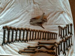Lot Of Vintage Wrenches Billings And Spencer, Made In Us