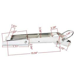 Stainless 21-inch Heavy Duty Boat Anchor Bow Roller Holder Self Launching Bow