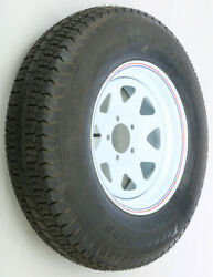 Trailer Tire And Steel Wheel Assembly 15x6 5 On 4.5/h78-15 D