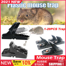 1-20xhome Mouse Trap Rat Mice Squirrel Killer Snap Power Rodent Reusable Catcher