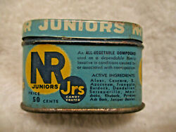 Vintagenr Juniors Chips Off The Old Blocknature's Remedylaxative Tinempty