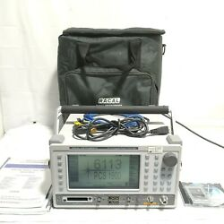 Racal 6113 Digital Radio Test Set With Carrying Casemanual And Cd