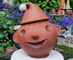 And03960s Coronel Mcm Los Angeles Vtg Calif Pottery Xmas Elf Cookie Jar Mexican Art