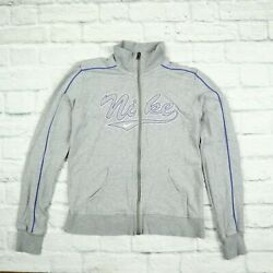 Womens Vintage Nike Tracksuit Jacket Nike The Athletic Dept Size L Fits Small