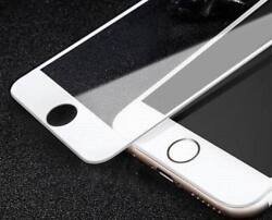 Lot Of 100 Screen Protectors For Iphone X White 5d Curve Edge Glass Tempered Us
