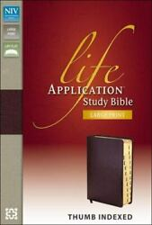 Niv, Life Application Study Bible, Second Edition, Large Print, Bonded Leather,