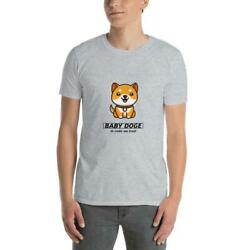 Crypto Baby Doge Coin Unisex T Shirt In Code We Trust.