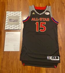 Demarcus Cousins Autographed 2017 Nba All Star Game Issued Jersey Meigray Loa