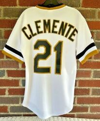 Pittsburgh Pirates 21 70's Style Roberto Clemente Jersey Size S