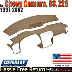 Coverlay Combo Kit Light Brown 18-904c-lbr Dash/vent Cover For 97-2002 Camaro,ss