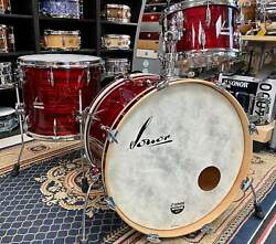 Sonor Vintage Series 3pc Shell Pack With Mount 22 X 14 / 13 X 8 / 16x14 Vi