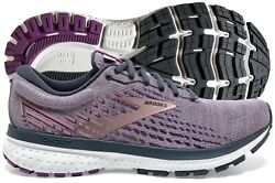 Brooks Ghost 13 Womenand039s Shoe Lavender/ombre/metallic Multiple Sizes New In Box