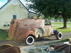 1939 Ford Panel Delivery Truck Body Only The Body 38 Jalopy Trog Rat Rod