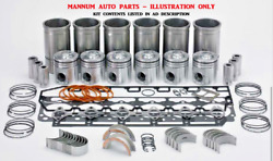 Engine Rebuild Kit - Fits Mitsubishi 4d34 With Liners 6/95- On - Canter