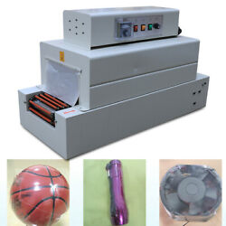 Chain Tunnel Type Heat Shrink Wrap Machine 260mm X 150mm For Pvc/pe/pp Packaging