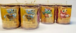 Lot Of 12 2013 Starlight Owl Collectible 3 Christmas Ornaments Michaels