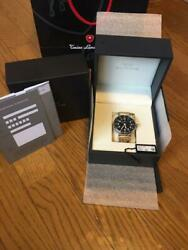 Glycine F104automatic Black Dial 3 Hands Menand039s Watch With Box Warranty Manual