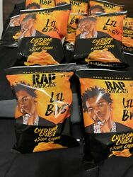 Rap Snacks Brand New Lil Baby Cheddar And Sour Cream 10 2.5oz Bags