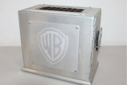 Ultra Rare Vintage Warner Brothers Theatrical Bank Vault Metal 10lbs Only 500