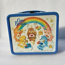 1983 Care Bears Aladdin Lunch Box W/thermos Beautiful Condition