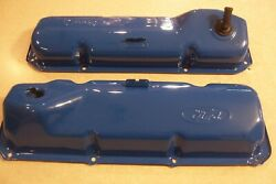 Late 60and039s-73 Power By Ford Logo 429 460 Valve Covers F250 Fairlane Galaxie Tbird
