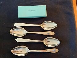 And Company Faneuil Sterling Silver Lg Serving Spoons 8 3/4 2nd And Last Lot