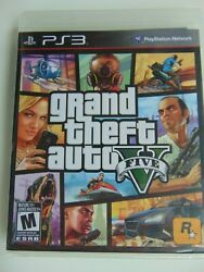 Grand Theft Auto V Gta5 Ps3 Brand New Factory Sealed In Y Shrink Black Label