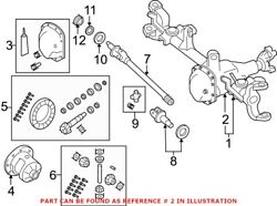 Genuine Oem Differential Housing For Jeep 68004069ac