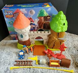Mike The Knight Glendragon Castle Fisher Price Playset Complete With Box