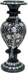 15 Modern Marble Flower Vase Mop Inlaid Collectible Art Black Friday Gift Décor