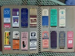 Lot Of 500 + Vintage Matchbook Covers In Album