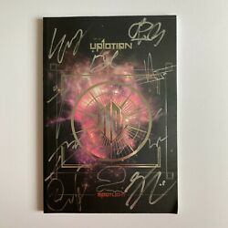 Up10tion And039spotlight - Silverand039 All Member Hand Signed Autographed Album + 1 Pc