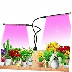 Grow Light For Indoor Plant Growing Led Grow Light 2heads 9 Dimmable White