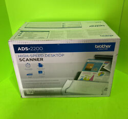 Brother Ads-2200 Scanner 1200 X 1200dpi Ads2200free Shipping