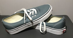 Vans Off the Wall Blue Denim Skate Shoes 500714 Size 7.5 Wm 6 Mn New