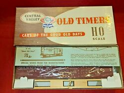 Central Valley Detroit Grand Haven And Milwaukee Box Car Kit B-911, New Ob