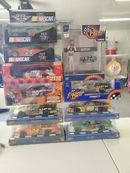 Lot Of 7 Nascar 124 Scale Collectible Model Cars + 2 Pez Nascars +2 Other Items