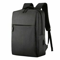 Backpack Anti theft Rucksack Laptop Notebook Bag with USB Charger Travel amp;School $16.09