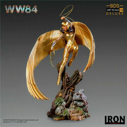 Iron Studios 1/10th Wonder Woman Deluxe Ww84 Painted Limited Statue New Stock
