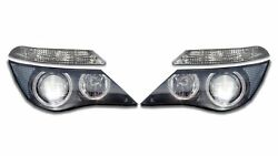 Left And Right Genuine Headlights Lamps With Turn Signals Kit For Bmw E63 E64 M6