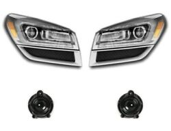 Left And Right Genuine Headlights Headlamps Hid Projector Beam And Fog Light Kit Gm
